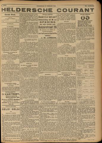 Heldersche Courant 1924-02-21