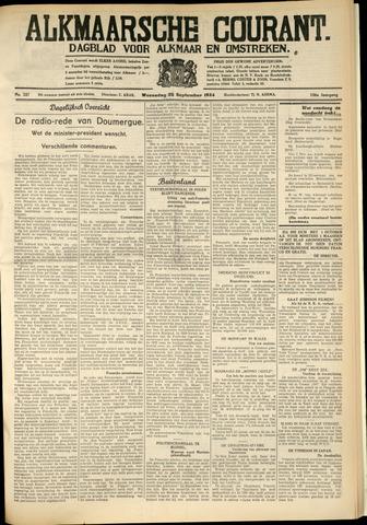 Alkmaarsche Courant 1934-09-26