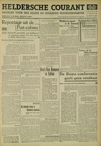 Heldersche Courant 1939-01-13