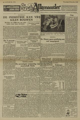 De Vrije Alkmaarder 1949-12-21