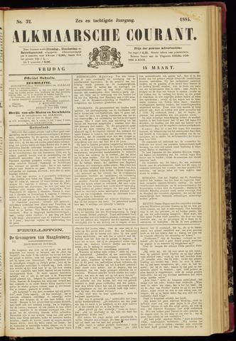 Alkmaarsche Courant 1884-03-14
