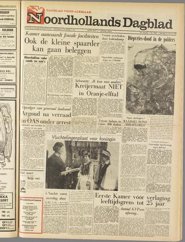 Noordhollands Dagblad : dagblad voor Alkmaar en omgeving 1963-02-27