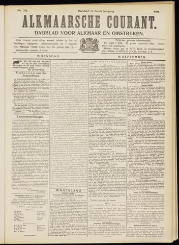 Alkmaarsche Courant 1908-09-16