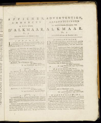 Alkmaarsche Courant 1811-12-18