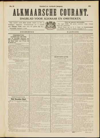 Alkmaarsche Courant 1911-01-12