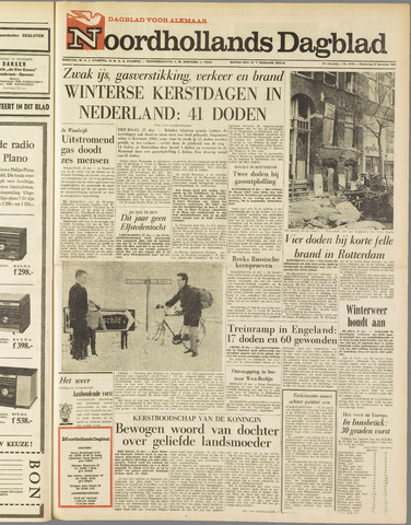 Noordhollands Dagblad : dagblad voor Alkmaar en omgeving 1962-12-27