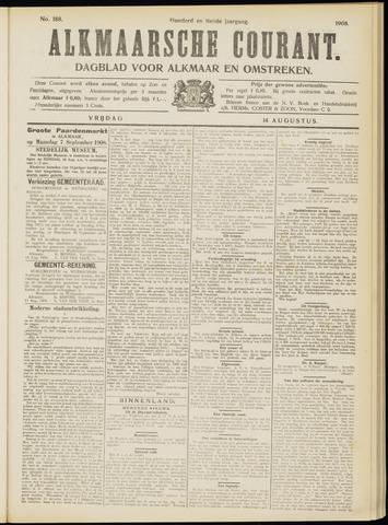 Alkmaarsche Courant 1908-08-14