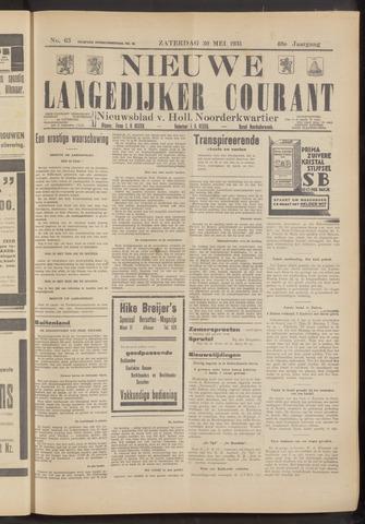 Nieuwe Langedijker Courant 1931-05-30