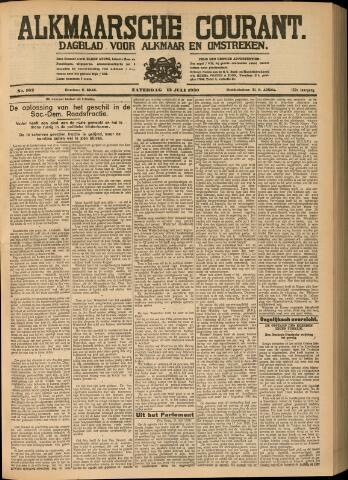 Alkmaarsche Courant 1930-07-12