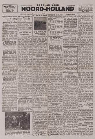 Dagblad Noord-Holland, Schager editie 1943-08-13