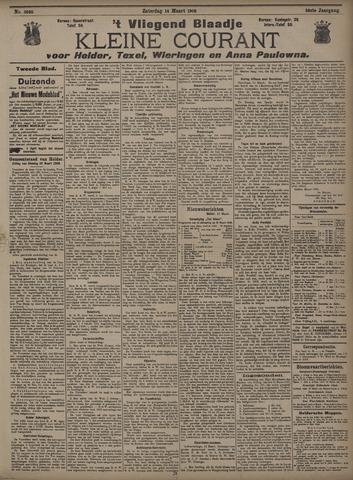 Vliegend blaadje : nieuws- en advertentiebode voor Den Helder 1908-03-14