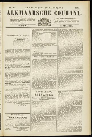 Alkmaarsche Courant 1889-08-16