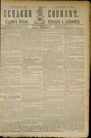 Schager Courant 1910