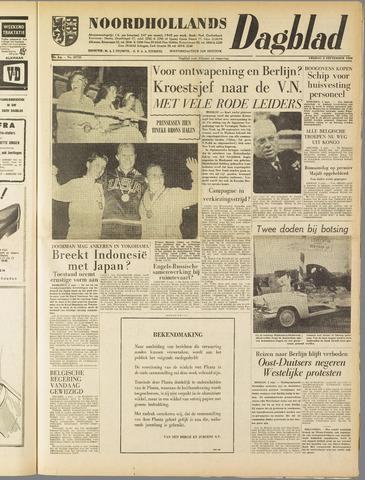 Noordhollands Dagblad : dagblad voor Alkmaar en omgeving 1960-09-02