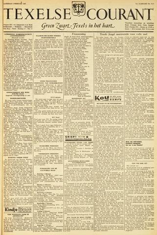 Texelsche Courant 1957-02-02