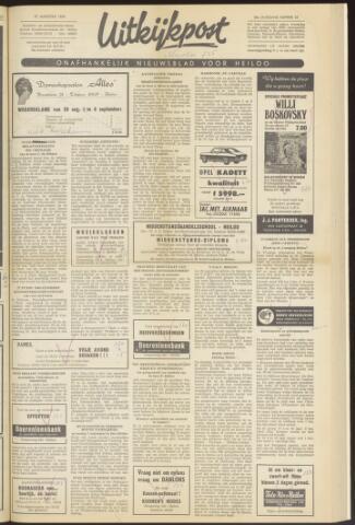 Uitkijkpost : nieuwsblad voor Heiloo e.o. 1969-08-27