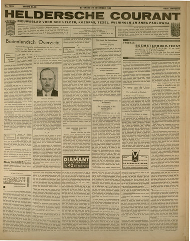 Heldersche Courant 1934-12-29