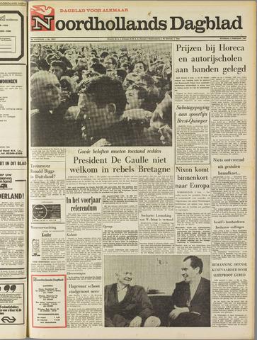 Noordhollands Dagblad : dagblad voor Alkmaar en omgeving 1969-02-03