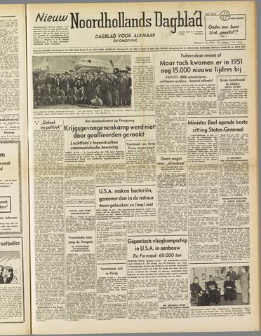 Nieuw Noordhollandsch Dagblad : voor Alkmaar en omgeving 1952-07-15