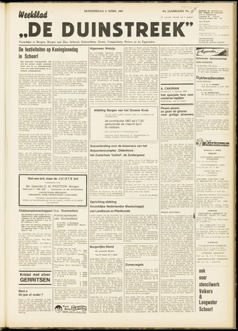 De Duinstreek 1967-04-06