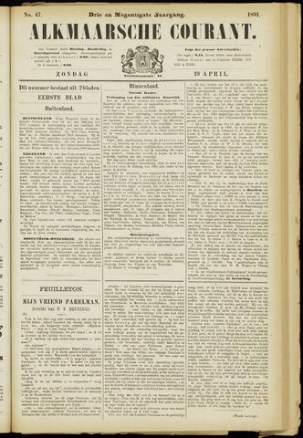 Alkmaarsche Courant 1891-04-19