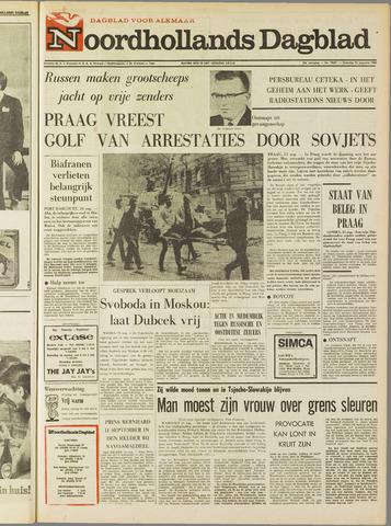 Noordhollands Dagblad : dagblad voor Alkmaar en omgeving 1968-08-24