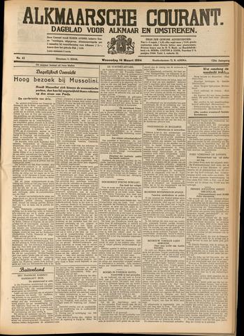 Alkmaarsche Courant 1934-03-14
