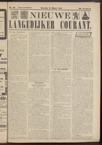 Nieuwe Langedijker Courant 1925-03-10