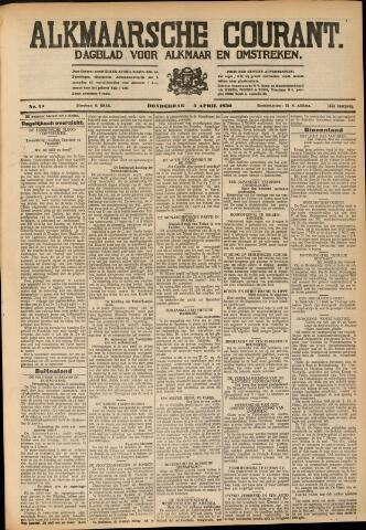 Alkmaarsche Courant 1930-04-03
