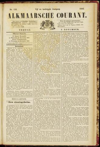 Alkmaarsche Courant 1883-11-09