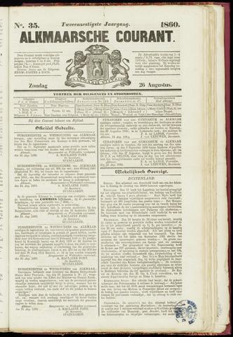 Alkmaarsche Courant 1860-08-26
