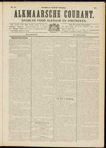 Alkmaarsche Courant 1911-01-30