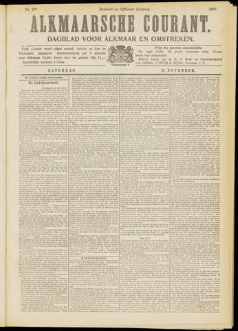 Alkmaarsche Courant 1913-11-15