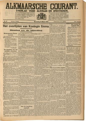 Alkmaarsche Courant 1934-03-21