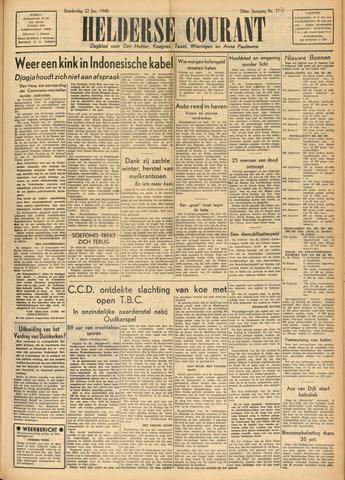 Heldersche Courant 1948-01-22