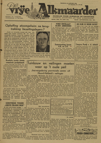 De Vrije Alkmaarder 1946-01-25