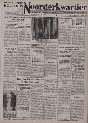 Dagblad voor Hollands Noorderkwartier 1942-04-09