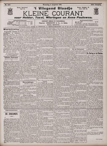 Vliegend blaadje : nieuws- en advertentiebode voor Den Helder 1904-08-17