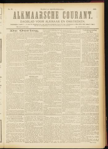 Alkmaarsche Courant 1917-02-14