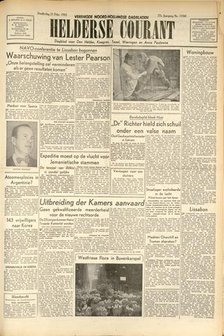 Heldersche Courant 1952-02-21