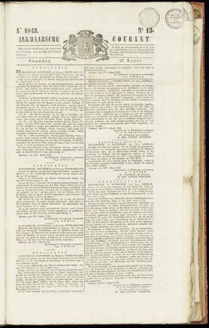 Alkmaarsche Courant 1843-03-27