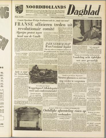 Noordhollands Dagblad : dagblad voor Alkmaar en omgeving 1958-10-15