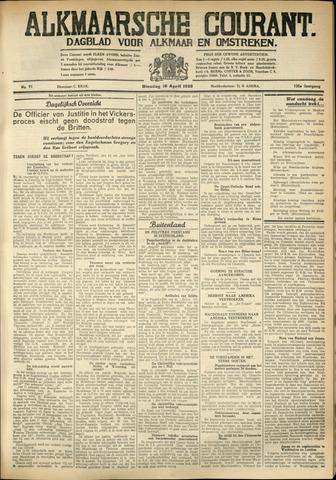 Alkmaarsche Courant 1933-04-18