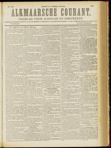 Alkmaarsche Courant 1918-09-06
