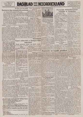 Dagblad Noord-Holland, Schager editie 1944-08-07