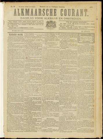 Alkmaarsche Courant 1919-04-16