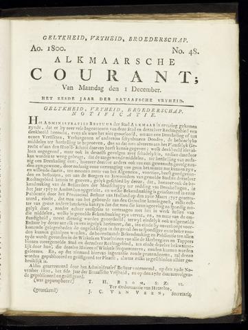 Alkmaarsche Courant 1800-12-01
