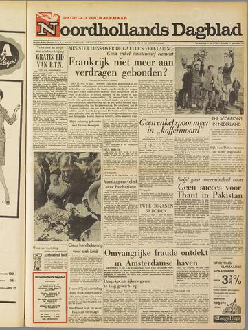 Noordhollands Dagblad : dagblad voor Alkmaar en omgeving 1965-09-11