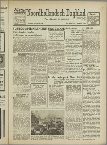 Nieuw Noordhollandsch Dagblad : voor Alkmaar en omgeving 1946-01-25