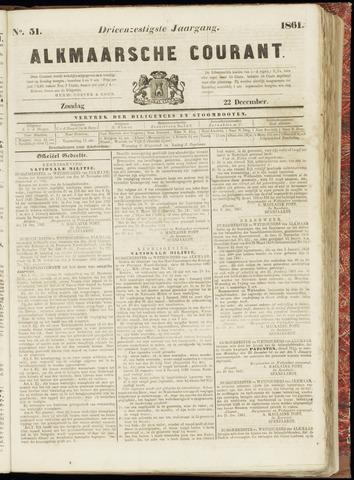 Alkmaarsche Courant 1861-12-22